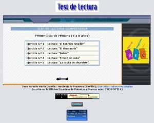 TEST COMPRENSIÓN. PRIMER CICLO EP.