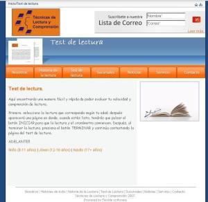 TEST DE LECTURA. VARIAS EDADES.