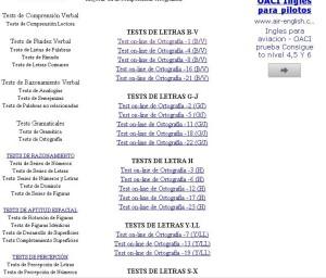 TESTS DE ORTOGRAFÍA