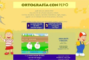 ORTOGRAFÍA CON PIPO.