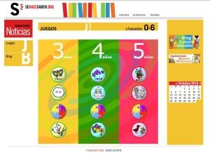 Juegos educativos para todos los cursos de Educación Infantil.