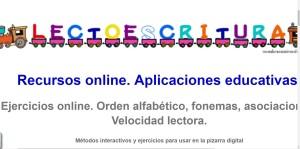 Ejercicios online. Orden alfabético, fonemas, asociaciones, Velocidad lectora.